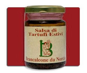 Salsa di Tartufi Neri Estivi Brancaleone da Norcia