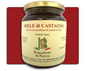 Miele di Castagno Brancaleone da Norcia