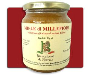 Miele di Millefiori Brancaleone da Norcia
